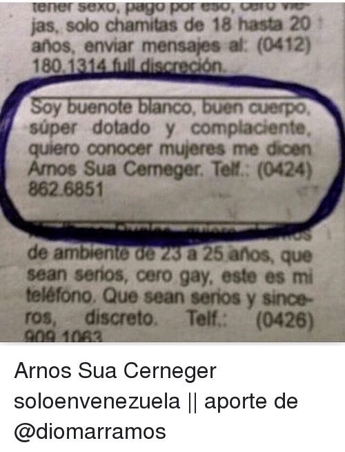 Conocer Mujeres 84879