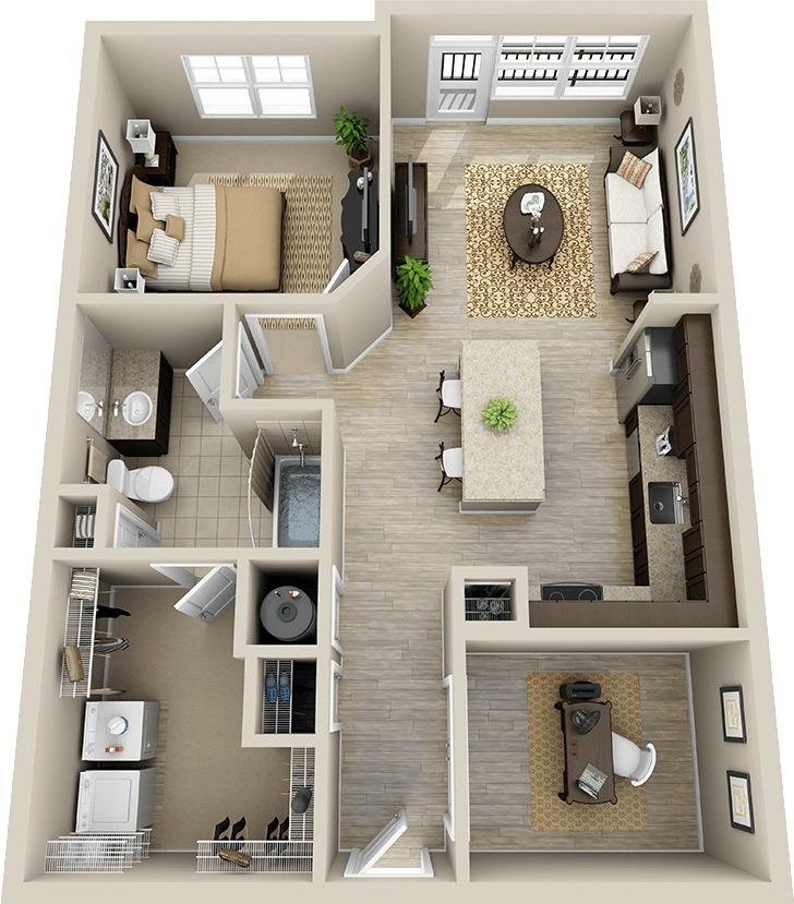Dormitorios Pequeos Para 995878